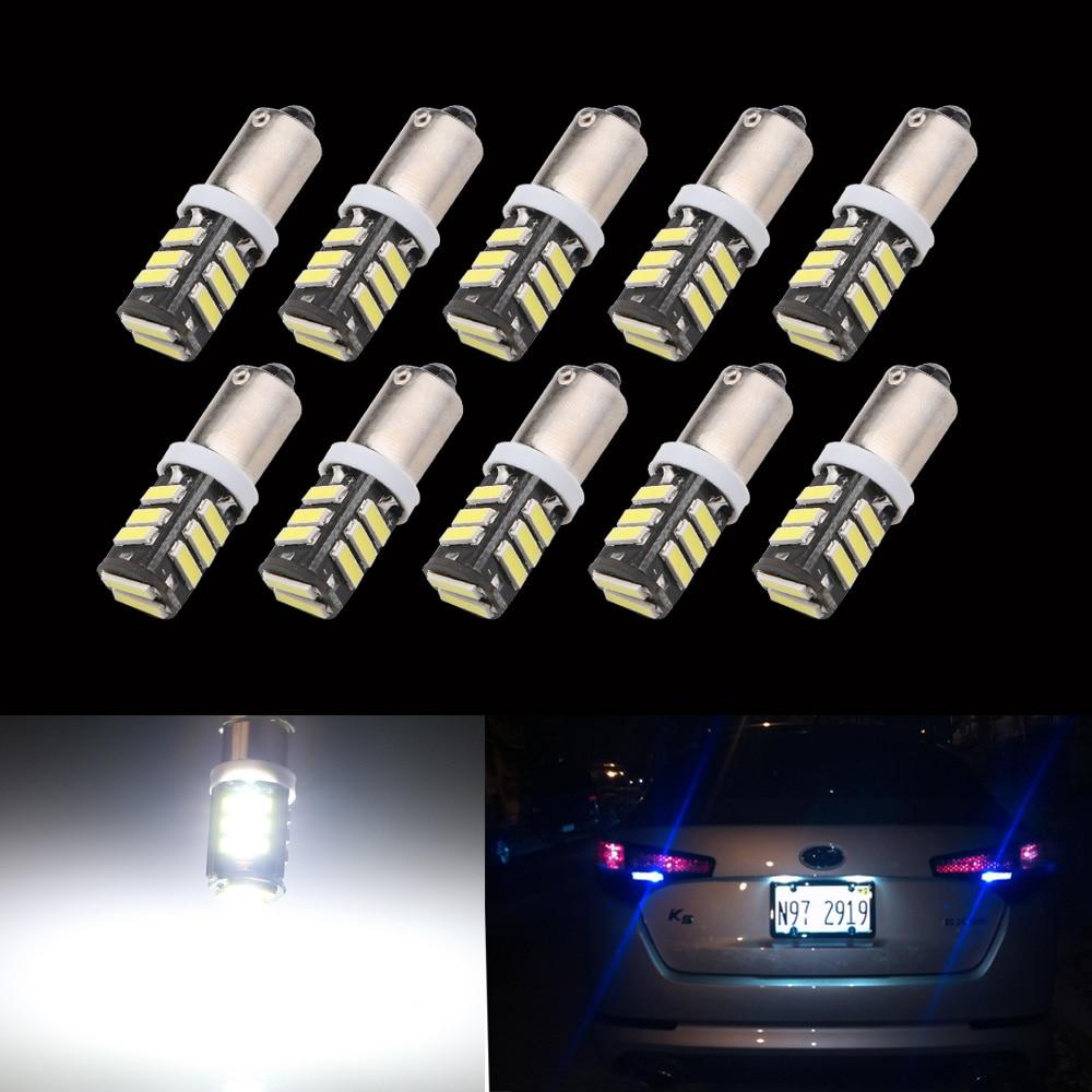 ᐂ10 unids Super brillante Ba9S 11 SMD 7014 LED 11smd 11led Marcos ...