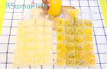 20Pcs Food Grade PE Bag Creative Self-sealing Disposable Ice Bag Ice Cube Mold Sealed Bags Can Make 480 Ice Cubes For Kitchen недорого