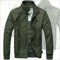 2016 autumn new men casual jacket collar casual jacket Air Force One MILITARY JACKET