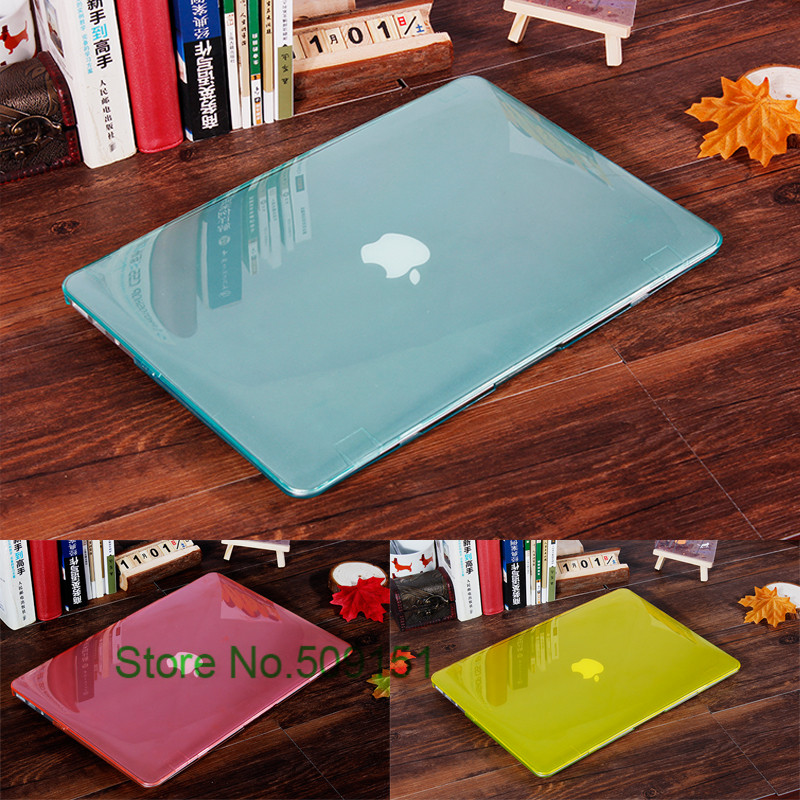 Crystal Transparent Crystal Laptop Case Cover For Macbook Air 11 12 13 15  Inch Pro Retina
