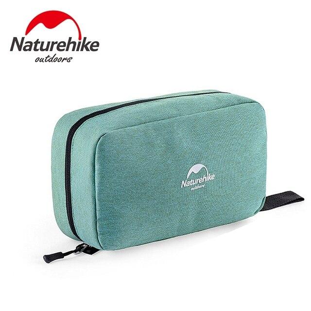 Naturehike нейлон мыть Водонепроницаемая дорожная сумка косметичка большой емкости открытый кемпинг