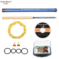 Angler Dream 12 13FT Blue Color Tenkara Rod Combo 7 3 Fast Action Carbon Fiber Tenkara