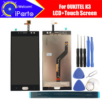 5 5 Inch Oukitel K3 LCD Display Touch Screen Digitizer Assembly 100 Original New LCD Touch