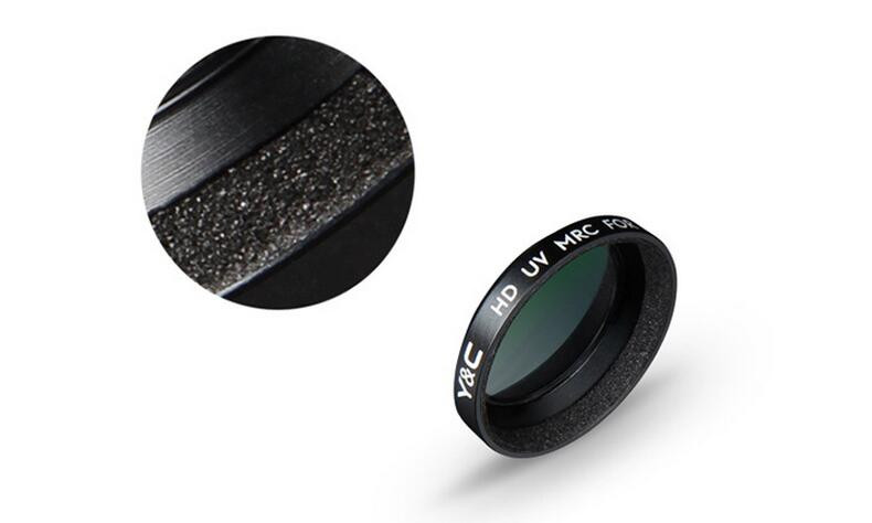 1pcs YC Lens Filters UV CPL ND4 ND8 ND16 Camera Lens Filter for MAVIC Pro Drone 9