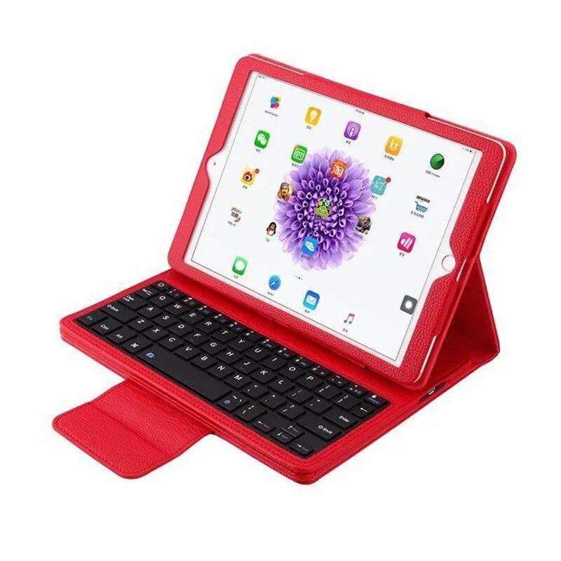 Bluetooth Folio Keyboard Case for iPad 9.7 2017 2018 Lichi PU Smart Cover with Auto Sleep Wake for iPad 9.7 A1822 A1893 Coque