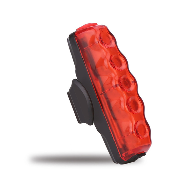 Waterproof COB High Bicycle light USB Rechargeable Bike Front Rear Tail Light Lamp Taillight With Mini USB cable #2g27 (5)