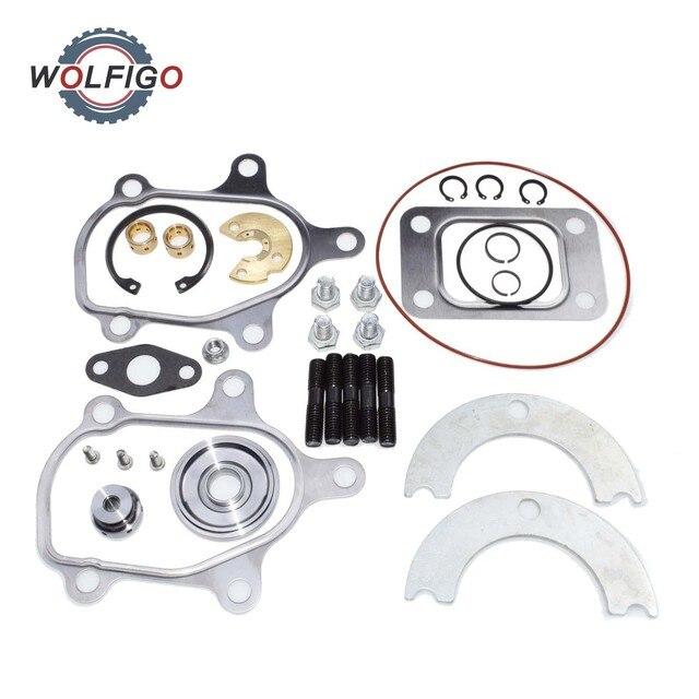 WOLFIGO Kit de réparation de turbocompresseur 360D, avec roulement dynamique de poussée, pour turbocompresseur Garrett T25 T28 T2 TB02 TB25