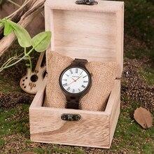 BOBO ptak kobiety drewniane zegarki Top marka Luxury Design pasek drewna zegarki kwarcowe zegarki z pudełkiem prezent koraliki bransoletka