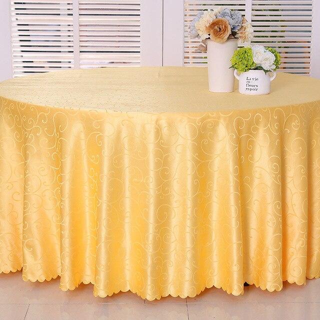 € 12.81 6% de réduction|Nappe ronde de mariage bleu rouge Gaestgiveriet  nappe d\'hôtel couvertures de table ronde pour la fête dans Nappes de ...
