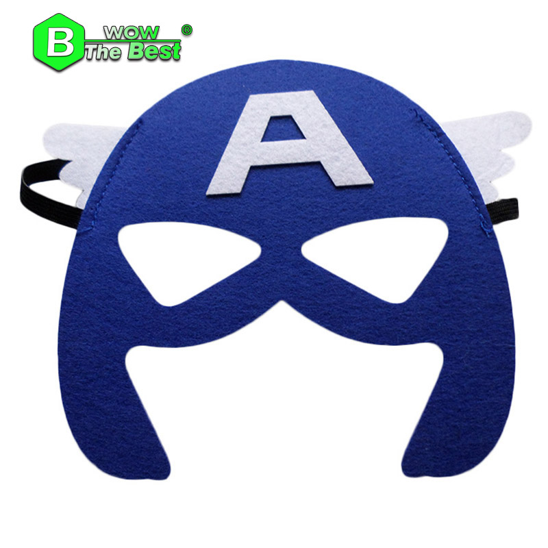2017 yr kids cosplay maskparty halloween masks ironman star wars hulk superman spiderman - Kids Halloween Masks