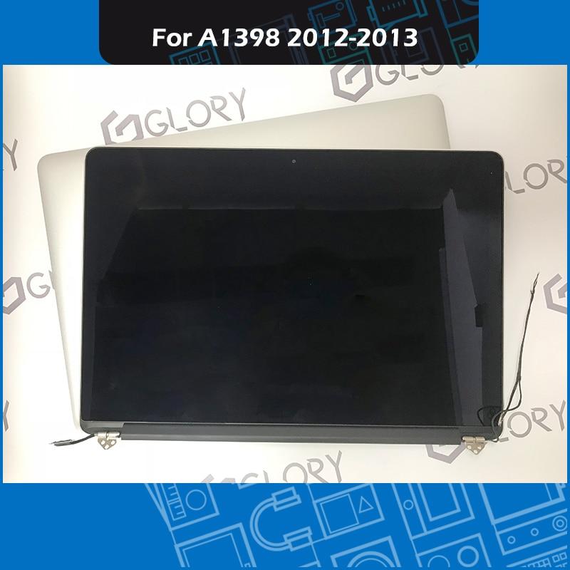 Véritable A1398 LCD Écran Assemblée Complet pour Macbook Pro Retina 15 ''A1398 LCD Affichage 661-6529 661- 7171 Mi-2012 Début-2013