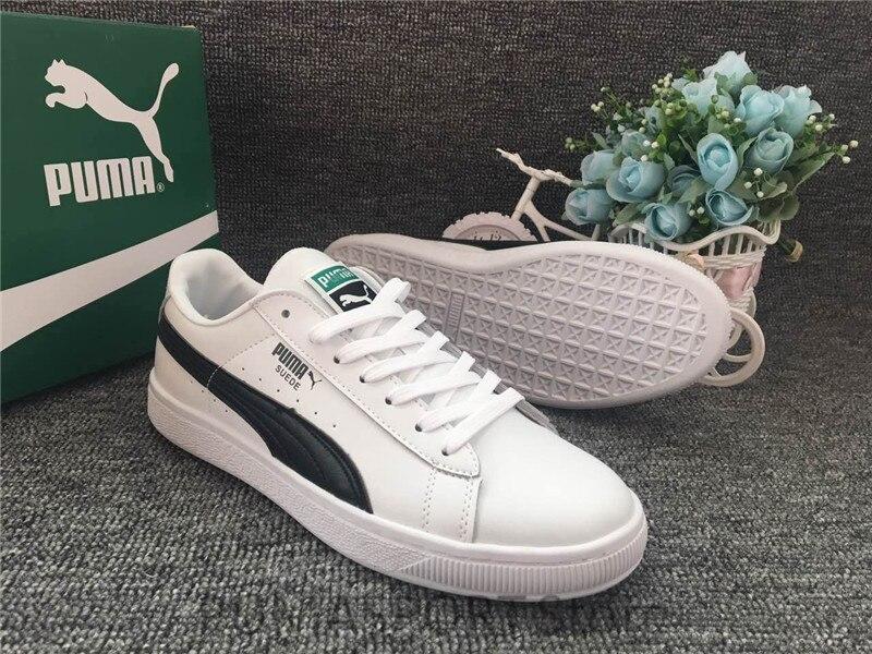Новое поступление Пума замши Мужская и женская обувь дышащие кроссовки бадминтон обувь шесть цветов Size36-44