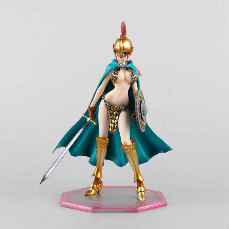 Anime One Piece Rebecca Lutador Espada Ver PVC Action Figure Collectible Modelo toy boneca 23 cm