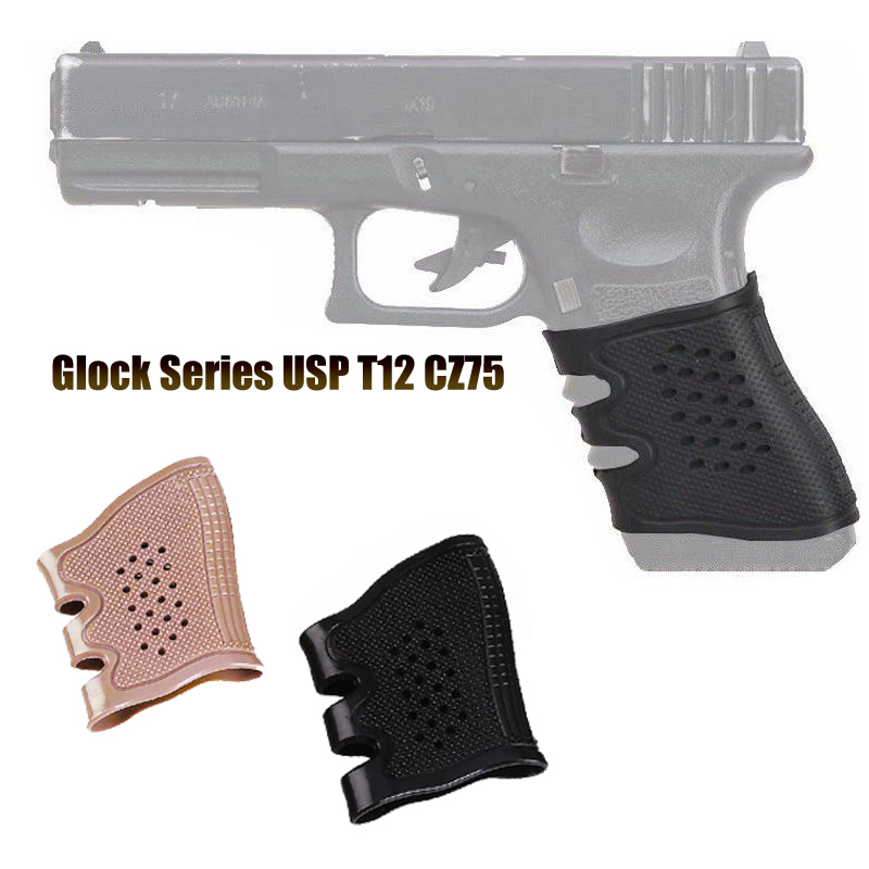 Hunting Tactics Anti Slip Grip Cover Glock Holster 17 19 20 21 22 31 32 and Most AR15 M4 AK 47 Glock Holster Kydex-in Hunting Gun Accessories from Sports & Entertainment