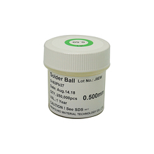 Free shipping! PMTC leaded solder balls 250k 0.5 mm for bga rework reballing