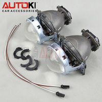 Free Shipping Autoki New 3.0 Koito Euro Q5 Bi xenon Projector Lens Headlights D1S D2H D2S D3S D4S Bright HID Car Light Retrofit