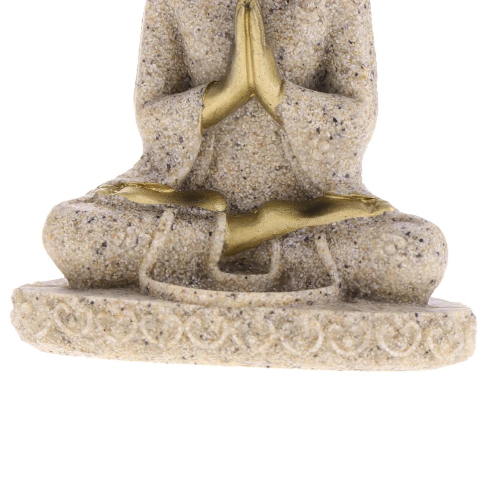 Meditation Buddha Statue Figurine Handmade 6