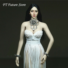 1/6 Scale Female Clothes Set Sexy Tassel Necklace Clothes Necklace Accessories for 12 TBLeague Big Bust Action Body s02a s06b s09c s18a s19b s20a s21b s22a s23b 1 6 tbleague ph seamless mid large breast bust female body f 1 6 head figure