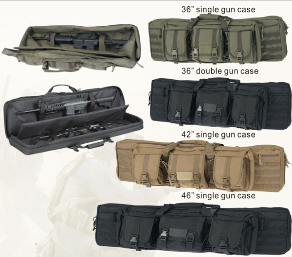 Black Military Gun Bag Hunting 36 Double Guns Can Hold Factory Directly In Low Price Holsters From Sports Entertainment On