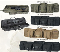 black Military gun bag,hunting gun bag,rifle bag,36 double guns can hold,factory directly sell in low price