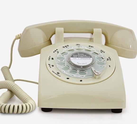 Aliexpresscom Buy Swivel Plate Rotary Dial Telephone Old