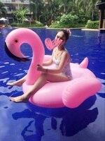 dhl free shipping inflatable Unicorn flamingo Swimming Float for Adult Tube Raft Kid Swim Ring Water Fun Pool Toy
