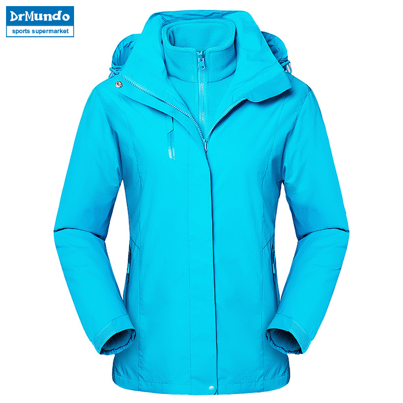 2018 New Waterproof Ski jacket Fleece White Windproof Snow Clothes Thermal Womens Double Single Board Ski Suit Hiking Jacket2018 New Waterproof Ski jacket Fleece White Windproof Snow Clothes Thermal Womens Double Single Board Ski Suit Hiking Jacket