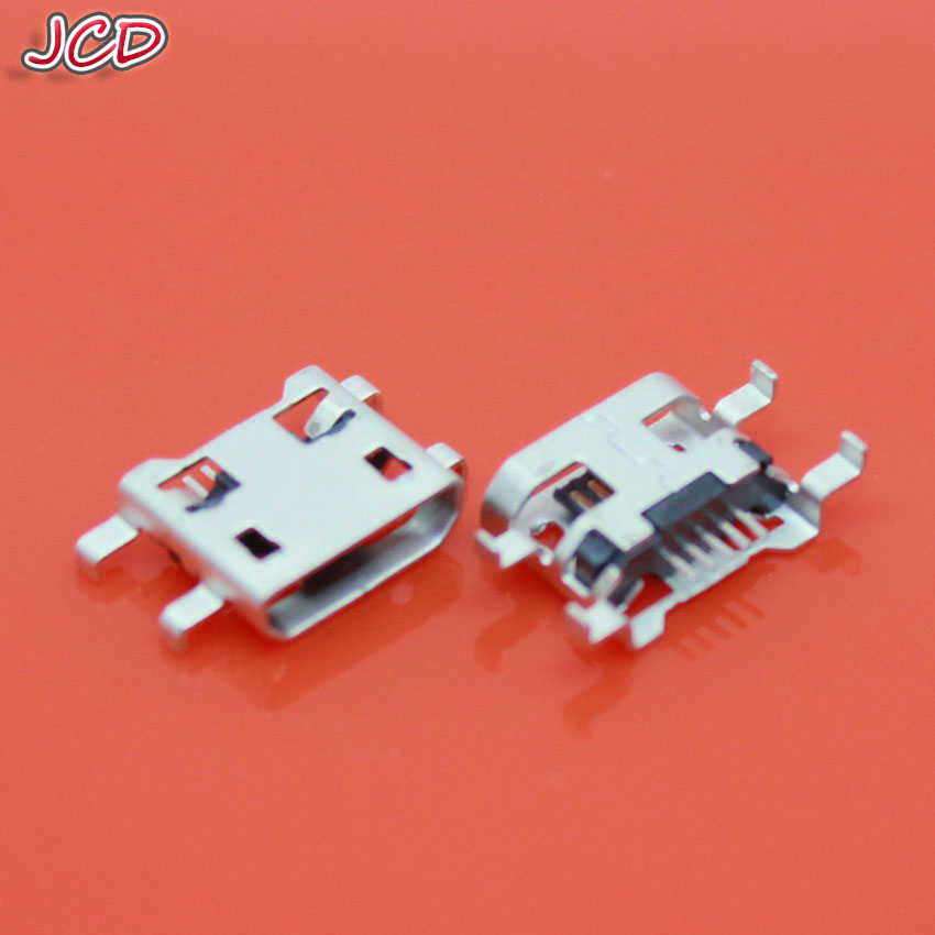 JCD 5 Pin Micro USB jack socket charger port replacement dock plug repair parts 5pin For Huawei U8818 C8813 C8813Q
