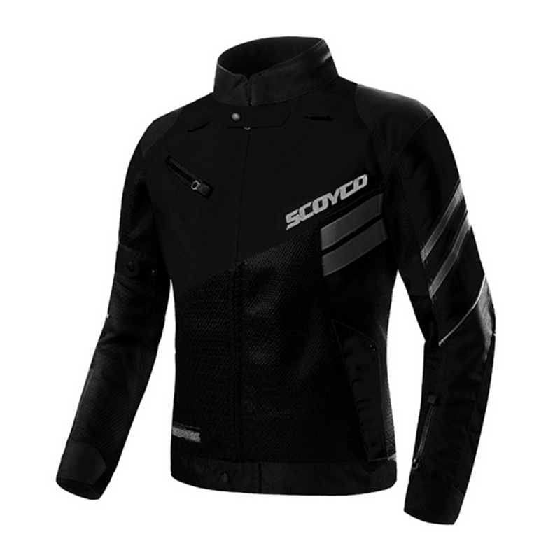 SCOYCO Motorcycle Jacket Men Motorcycle Summer Jacket  Body Armor Motobike Motocicleta Combinations Green color Chaquetas Black  цена и фото
