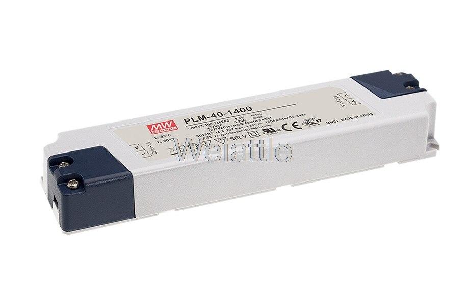 MEAN WELL оригинальный PLM-40E-350 105V 0.35A meanwell PLM-40 105V 36,75 W одиночный выход LED Импульсный источник питания