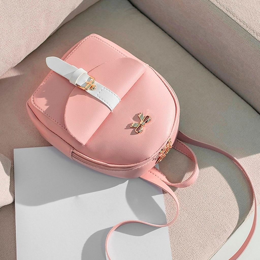 HTB1eHehNXzqK1RjSZFoq6zfcXXaZ Convenient fashion Travel Fashion Lady Shoulders Small Backpack Letter Purse Mobile Phone mochilas Canta