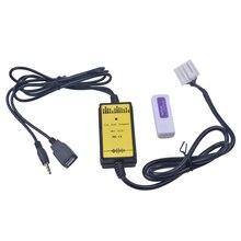 Автомобильный адаптер USB MP3 аудио Интерфейс SD AUX USB кабель Connect Virtual cd-чейнджер для Mazda 3 6 CX7