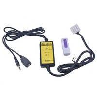 Adaptador para carro USB MP3 3 6 Áudio SD USB AUX CD Changer para Mazda 2004 2005 2006 2007 2008