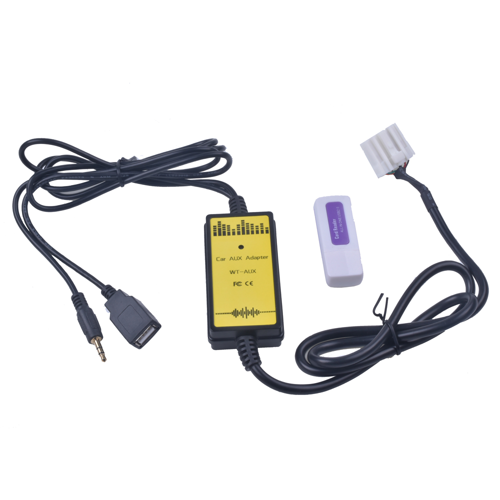 Auto USB Adapter MP3 Audio SD AUX USB CD Wechsler für <font><b>Mazda</b></font> <font><b>3</b></font> 6 2004 2005 2006 <font><b>2007</b></font> 2008 image