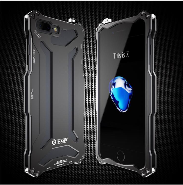 imágenes para 2016 diseño original de metal Guerrero Armadura caja del teléfono móvil para el iphone 7 7, además de agua/tierra/shock parachoques para el iphone 7 plus 7