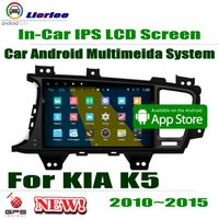 For Kia Optima K5 (TF) 2010~2015 GPS Navigation Carplayer Android System RockChip PX5 1080P 9 HD IPS LCD Screen Radio Head