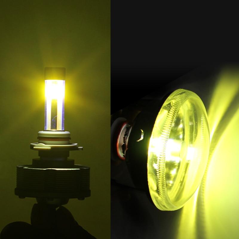 new design hb3 led automotive trucks fog lamps light source cars bulbs wholesale brightest golden light 3000kin headlight bulbs from automobiles
