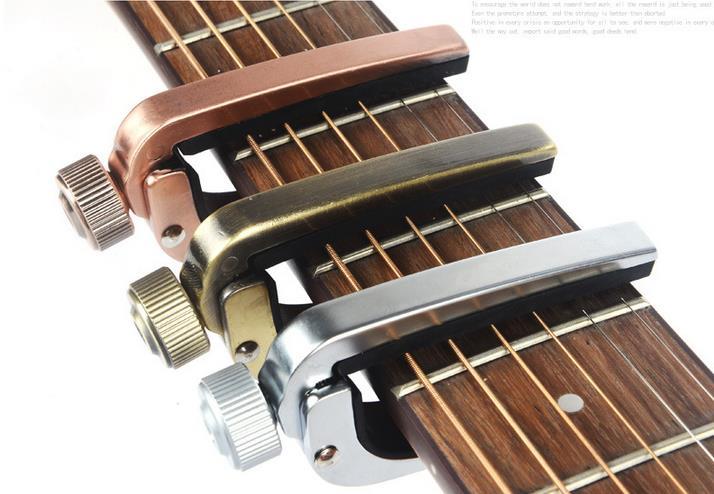 Acoustic Guitar capo guitar capotraste guitar capo clamp guitar capodastr kirsite antirust durable free shipping