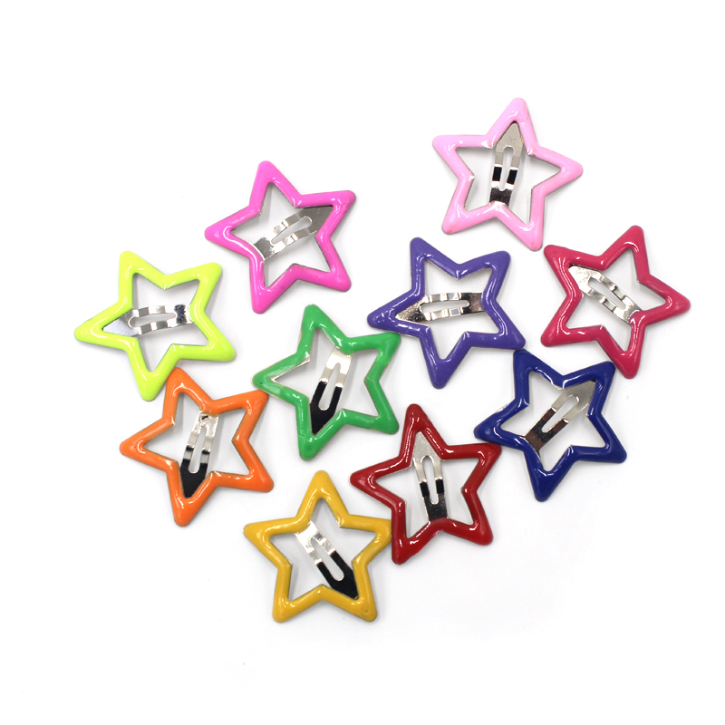 10pcs/lot Star Pet Dog Hairpin Small Puppy Cat Hair Bows Clips Pet Hair Accessories Dog Hair Grooming Dog Supplies