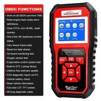 KONNWEI KW850 OBD 2 OBD2 Autoscanner Automotive Scanner Multi languages Auto Diagnostic Tool Better Than AL519 in Russian