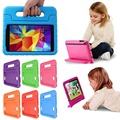 New Shockproof For Samsung For Galaxy Tab 4 7.0 Case Foam Handle Stand 7inch Case Cover Children Kids Protective Cover Case