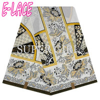 Hgih quality african guipure lace fabric ankara african wax print fabric with beads for women dress 6yard1706t0909d08