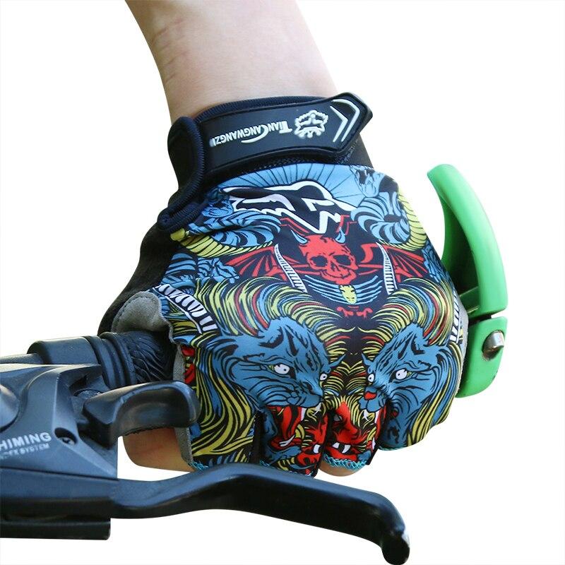 MTB велосипед перчатки Половина Finger эластичные дышащие летние спортивные мотоцикл велосипед велосипедные перчатки Для мужчин Для женщин Luva ...