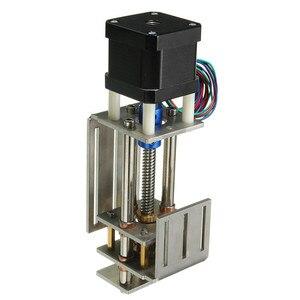 Image 3 - 55mm/150mm Z ekseni sürgülü zamanlı kiti 3 eksenli CNC Z mil inme CNC Mini Z ekseni slayt DIY doğrusal hareket freze 3 eksenli oyma