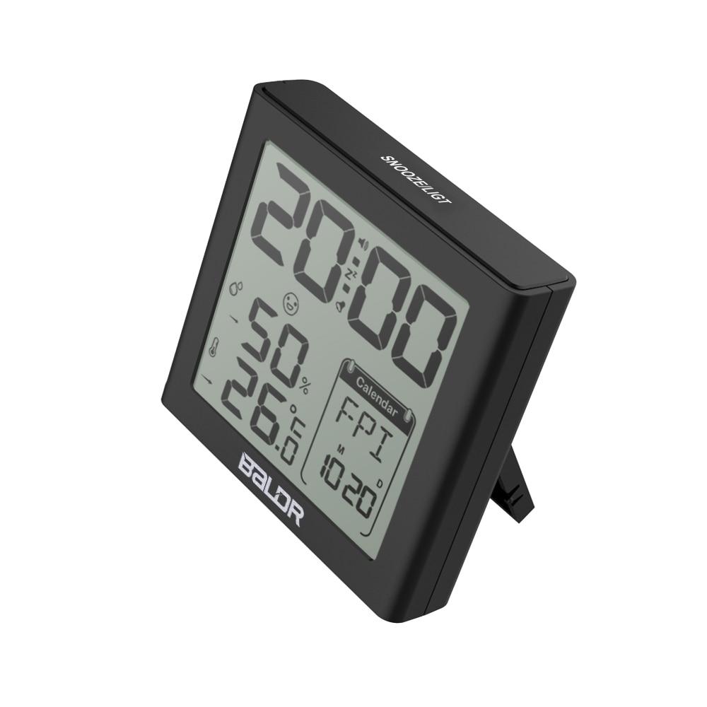 Baldr Digital Clock Alarm Snooze Күнтізбе Күнтізбе - Үйдің декоры - фото 3