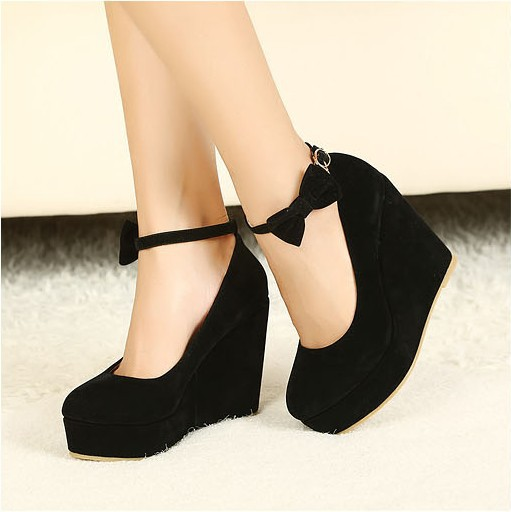 Popular Cute Black Wedges-Buy Cheap Cute Black Wedges lots from ...