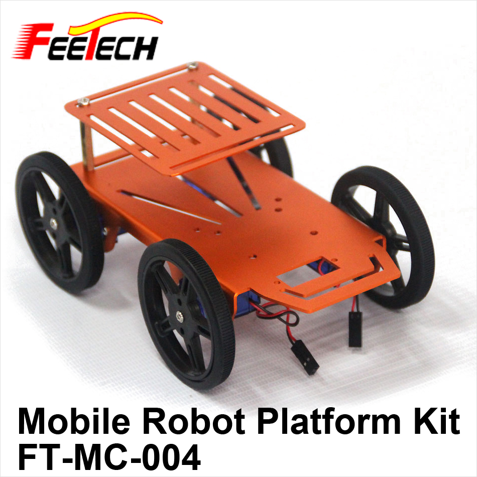 Mobile Robot Platform Kits for Education DIY FT-MC-004 , FEETECH Education Robot Kit, STEAM Robot Car, STEM Robot Car, Assemble