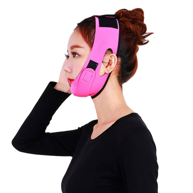Face Slim V-Line Lift Up Belt Anti Wrinkle Mask Strap Band V Face Line Belt Women Slimming Facial Beauty Tool Dropshipping 4
