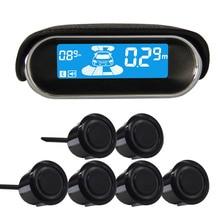 6/sensors NY3030 Car LCD Parking Sensor Kit Display for all cars parking assistance reversing radar