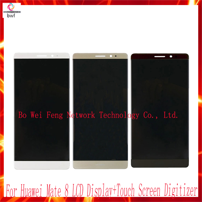 ФОТО 100% Tested Screen for Huawei Mate 8 LCD Display+Touch Screen Digitizer Assembly Replacement For Huawei Mate